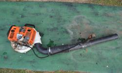 Blower for spares Can be repaired and used