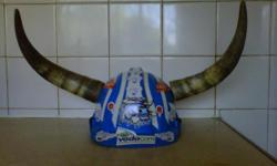 Beskrywing blue bulls ruby hardhat for the fans