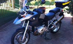 Fabrikaat: BMW Model: 1,200GS Mylafstand: 13,000 Kms