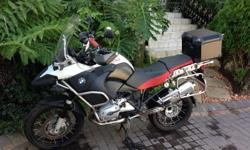 1200GS Adventure For Sale with Top Box and Panniers,