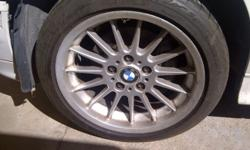 Bmw motorsport 17inch mags narrow wides for sale R4500
