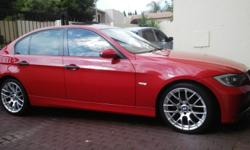 "BMW 320D E90 HAS +/-180000KM FSH 18"" MAGS PARKING"