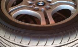 "I have a set of 17"" mags and tyres from a 2003 bmw 330"