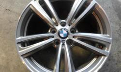 19 inch BMW 435 mags - original 19x8J, with new tyres