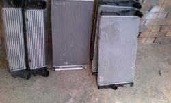BMW F20 /F30 Radiators /Aircon condensors and