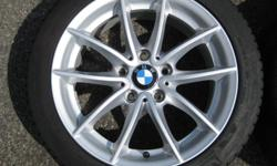 Original BMW 17' rims were on a vehicle for 1 week