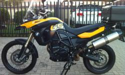 Fabrikaat: BMW Model: F 800 GS Mylafstand: 30,000 Kms