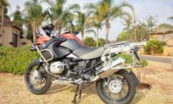 2011 BMW R1200 GS Adventure Full spec -esa -dtc -abs