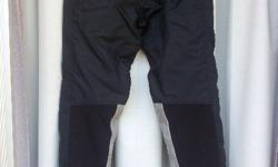 Black BMW Santiago pants - considered to be better than