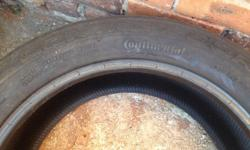 BMW X5 front tyre - 255/50/19 Continental CrossContact