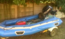 50hp Yamaha 3cylender Rubber Duck very fast...good