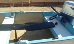 Boat for sale in exellent conditoin. 2.8 meter long and