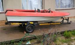 Boat & Trailer for sale Boat & Trailer have no papers,