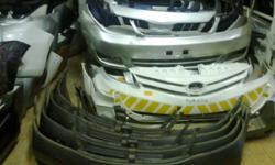 We stock fairly Used car Spare parts such headlights,