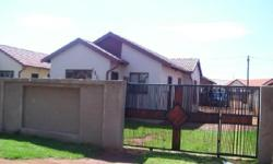 Boksburg - Vosloorus ext 31 - This home comprises of 3