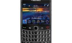 Beskrywing Bold 9700 with charger, usb cable, pouch,