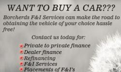 If you have a buyer for a vehicle and would like to