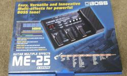 BRAND NEW, boss me25 effects pedal. Selling for R2100