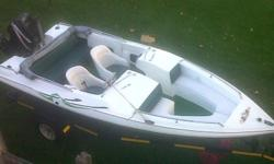 Bow Rider 17 ft boat with Mercury 90HP (2005 Model).