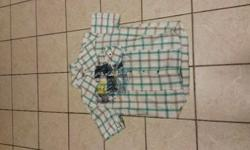 Box of mens brand name and non brand name shirts,