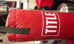 Soort: Fitness Soort: Equipment Boxing bag hardly used.