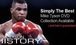 BOXING DVDS FOR SALE: MIKE TYSON- 70 MATCHES, 6 DISCS+