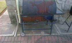 drum braai with grid.its in my way.make an offer come