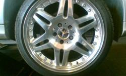 "18"" Brabus Rims , ideal for Mercedes Benz, High"