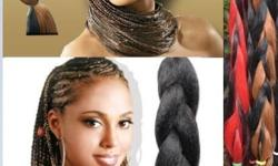 Stunning hair for braiding 2 tone and 3 tone 80 inches