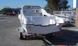 Beskrywing 18Ft Flamingo on trailer (No Motors). This