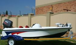 Brand new Griffen 140 Bass Boat for sale, fitted with: