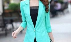 To buy these fashionable blazers send us an e-mail.
