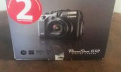 Canon Powershot G12, 10MP Digital Camera, High