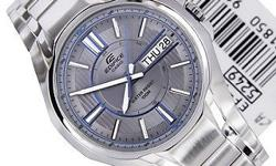 Brand new Casio Edifice stainless steel watch. IN the