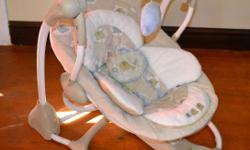2 x Bright Stars swing chairs. In excellent condition.