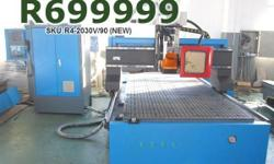 ATC CNC Router, Carousel ATC, 8 Tools, 9kW Spindle,