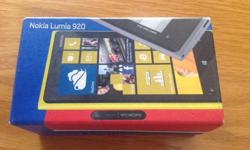 Brand new nokia lumia 920. Given as a contract phone