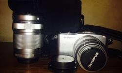 Brand new!!!!!!!! OLYMPUS PEN MINI E-MPI with flash and