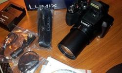 Brand new Panasonic LUMIX DMC - FZ60 Received as a gift