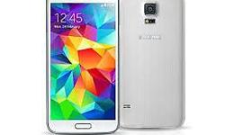 Brand new unopened white Samsung galaxy S5 for sale. I