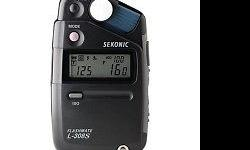 The pocket-sized Sekonic L-308S Flashmate is the