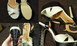 Size 4 all flats - R50 Zoom heels with stud detail -