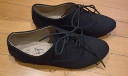 Hi,I have size 4 black shoes. They are brand new. If