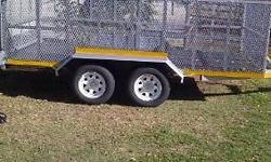 Brand new trailer for sale. Got papers,must just put it