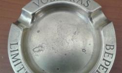 Old Volkskas brass ashtrays. R200 ea