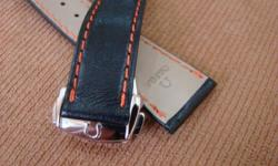 Authentic replacement straps and deployment clasps for