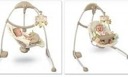 Bright starts cradle and sway baby Swing which cane