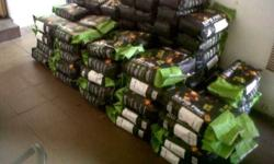 Briquettes 4KG for R25, buy 10 packets and get 1 pack
