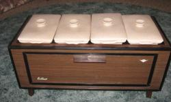 Table - model buffet warmer . Four quality ceramic