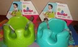 2 x Bumbo Floor Seats for sale. New design with